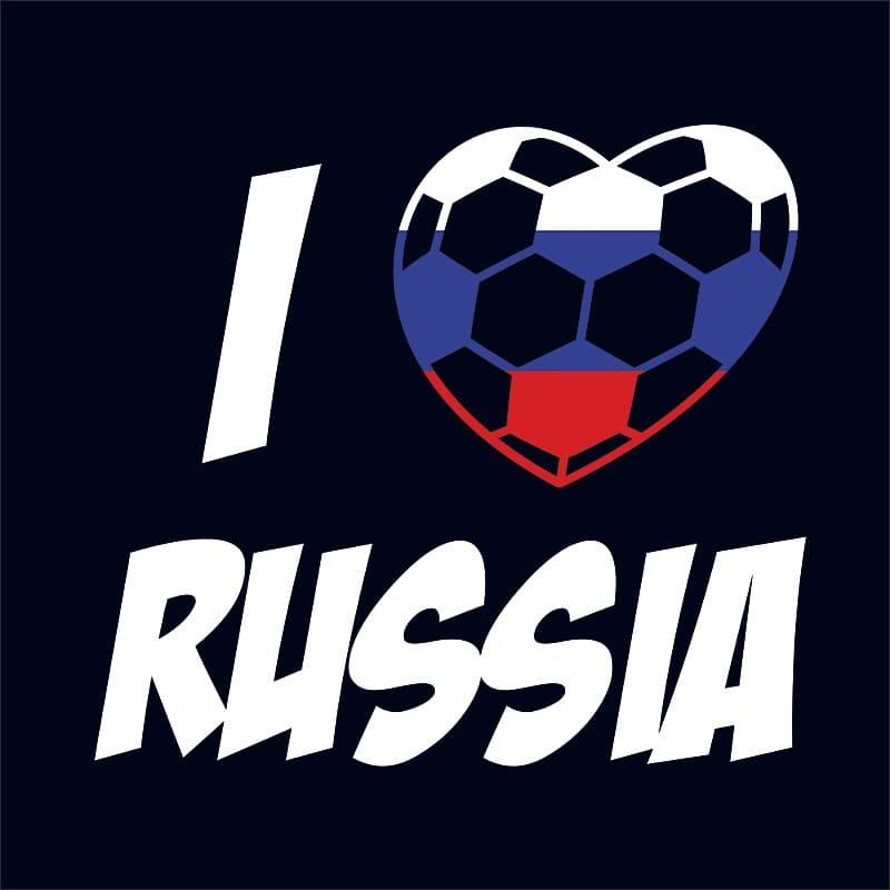 Football Love Russia Póló - Ha Football rajongó ezeket a pólókat tuti imádni fogod!