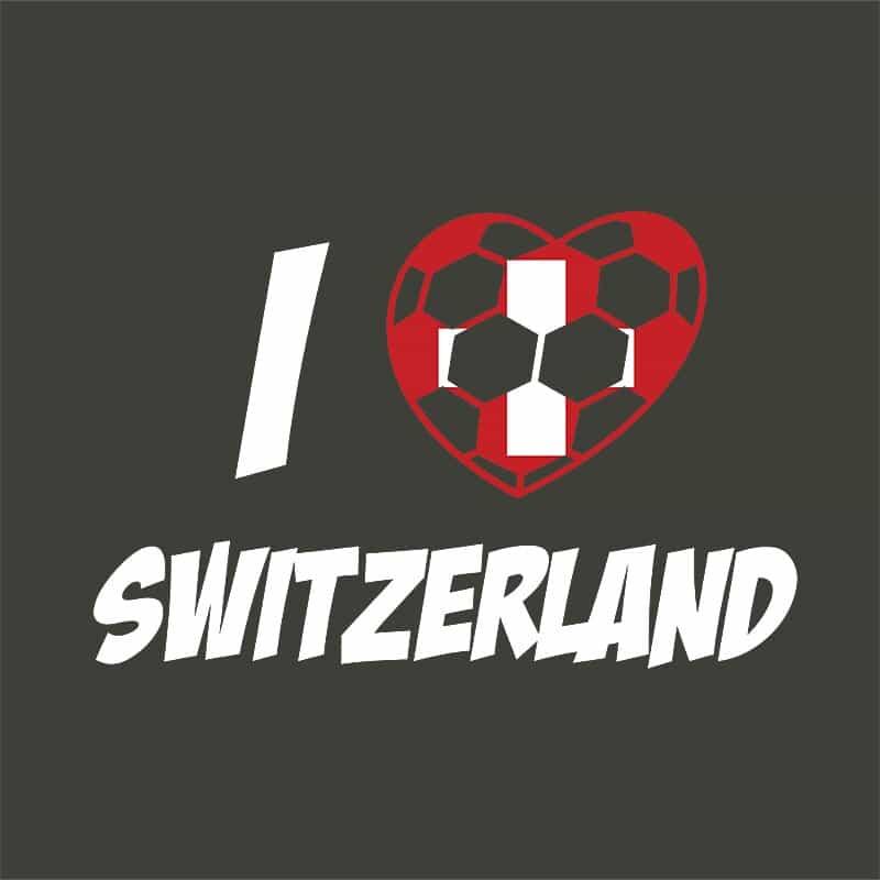 Football Love Switzerland Póló - Ha Football rajongó ezeket a pólókat tuti imádni fogod!