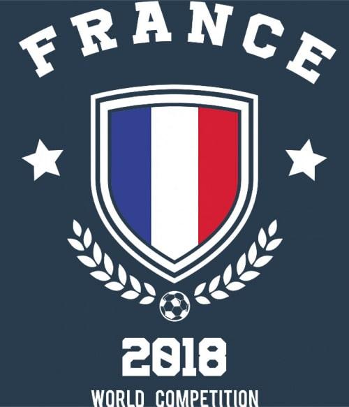 World Cup France Póló - Ha Football rajongó ezeket a pólókat tuti imádni fogod!