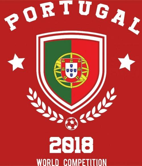 World Cup Portugal Póló - Ha Football rajongó ezeket a pólókat tuti imádni fogod!