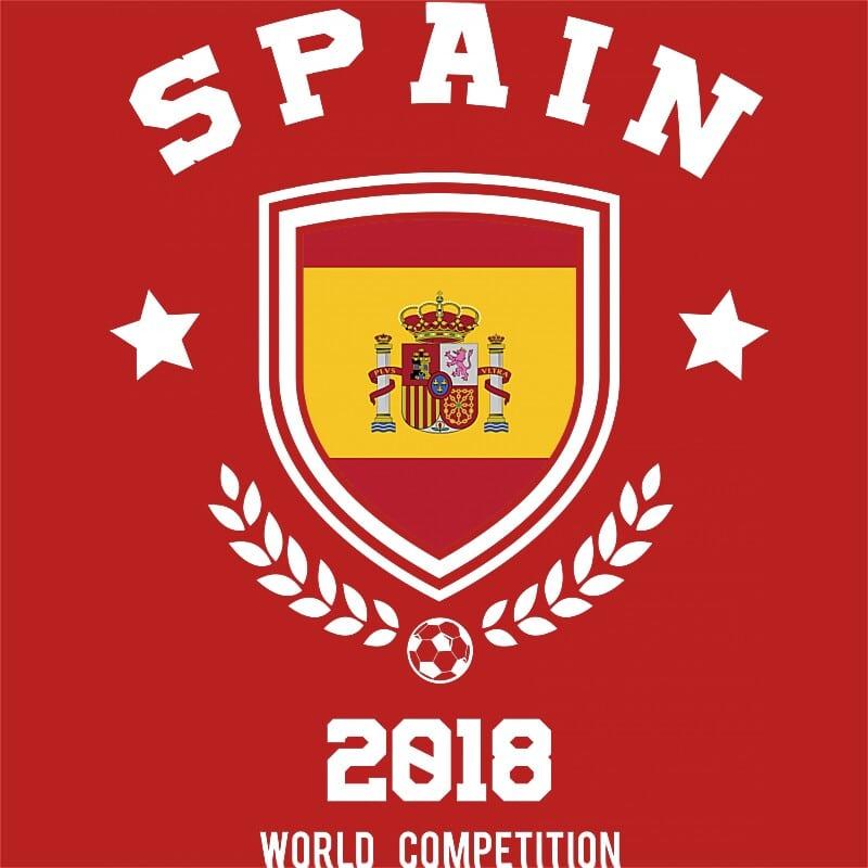 World Cup Spain Póló - Ha Football rajongó ezeket a pólókat tuti imádni fogod!