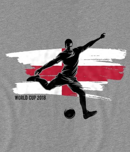 World Cup Flag Player England Póló - Ha Football rajongó ezeket a pólókat tuti imádni fogod!