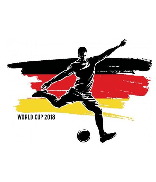 World Cup Flag Player Germany Póló - Ha Football rajongó ezeket a pólókat tuti imádni fogod!