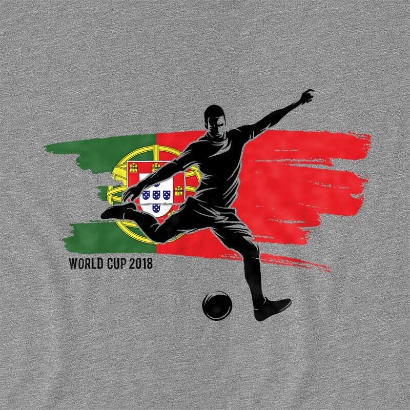 World Cup Flag Player Portugal Póló - Ha Football rajongó ezeket a pólókat tuti imádni fogod!