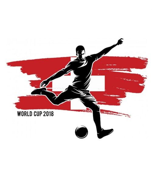 World Cup Flag Player Switzerland Póló - Ha Football rajongó ezeket a pólókat tuti imádni fogod!