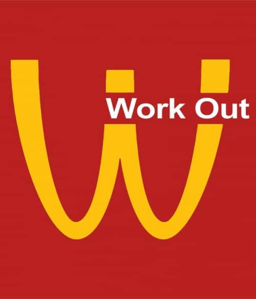 Work Out Logo Póló - Ha Brand Parody rajongó ezeket a pólókat tuti imádni fogod!