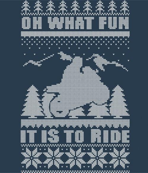 Motorcycle Ugly Sweater Póló - Ha Motorcycle rajongó ezeket a pólókat tuti imádni fogod!