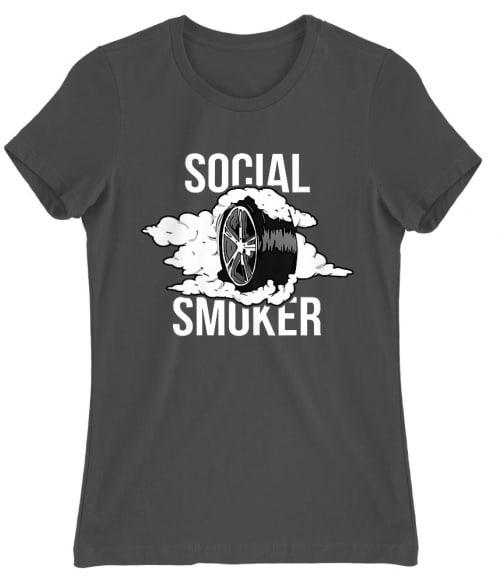 Social Smoker Póló - Ha Driving rajongó ezeket a pólókat tuti imádni fogod!
