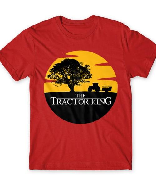 Tractor king Póló - Ha Tractor rajongó ezeket a pólókat tuti imádni fogod!