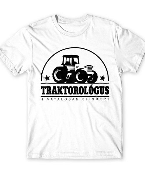 Traktorológus Póló - Ha Tractor rajongó ezeket a pólókat tuti imádni fogod!
