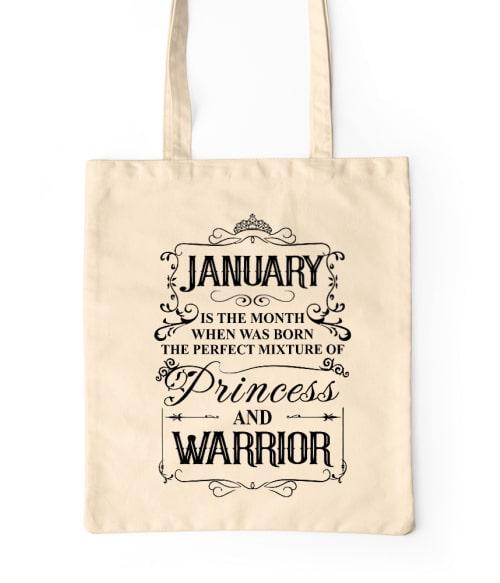 Princess Warrior January Póló - Ha Birthday rajongó ezeket a pólókat tuti imádni fogod!