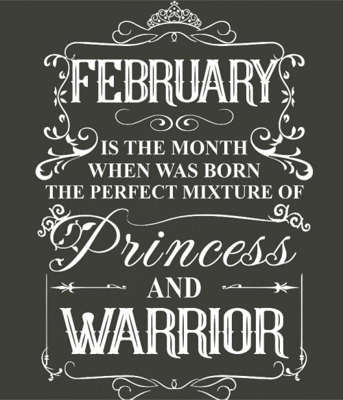 Princess Warrior February Póló - Ha Birthday rajongó ezeket a pólókat tuti imádni fogod!