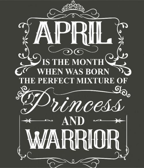 Princess Warrior April Póló - Ha Birthday rajongó ezeket a pólókat tuti imádni fogod!