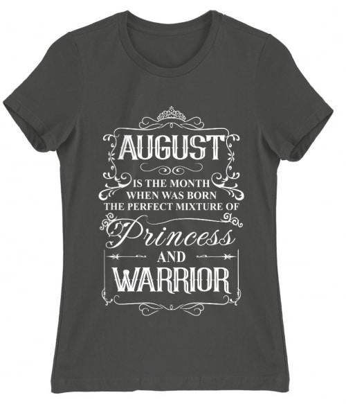 Princess Warrior August Póló - Ha Birthday rajongó ezeket a pólókat tuti imádni fogod!