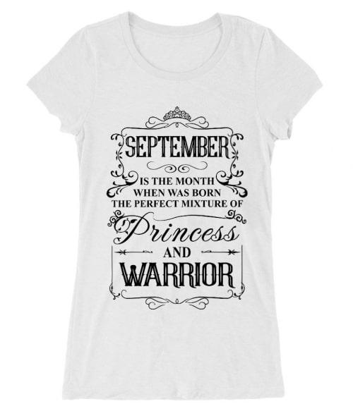 Princess Warrior September Póló - Ha Birthday rajongó ezeket a pólókat tuti imádni fogod!