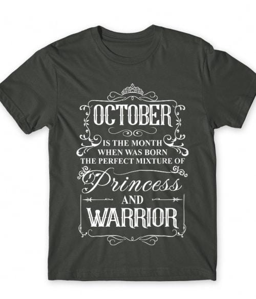 Princess Warrior October Póló - Ha Birthday rajongó ezeket a pólókat tuti imádni fogod!