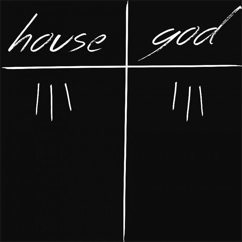 House VS Isten Póló - Ha Dr House rajongó ezeket a pólókat tuti imádni fogod!