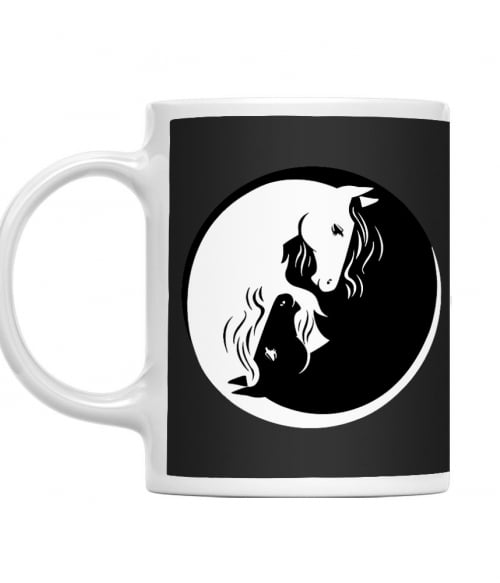 Horse yin-yang 2 Póló - Ha Horse rajongó ezeket a pólókat tuti imádni fogod!