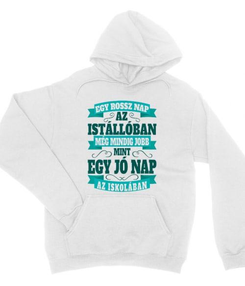 Rossz nap az istállóban vs jó nap az iskolában Póló - Ha Horse rajongó ezeket a pólókat tuti imádni fogod!