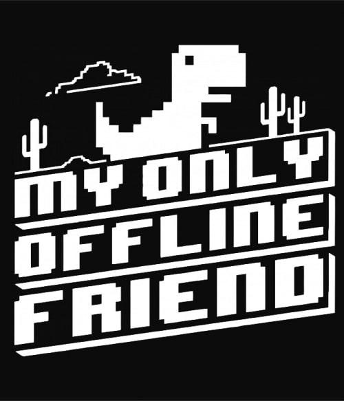 Offline friend Póló - Ha Fun Texts rajongó ezeket a pólókat tuti imádni fogod!