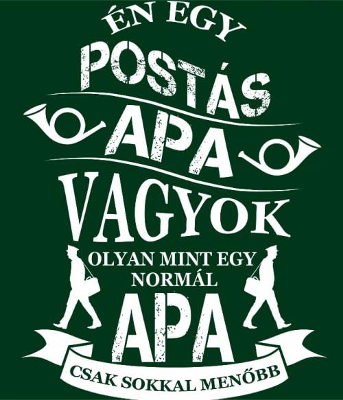 Postás Apa Póló - Ha Postman rajongó ezeket a pólókat tuti imádni fogod!