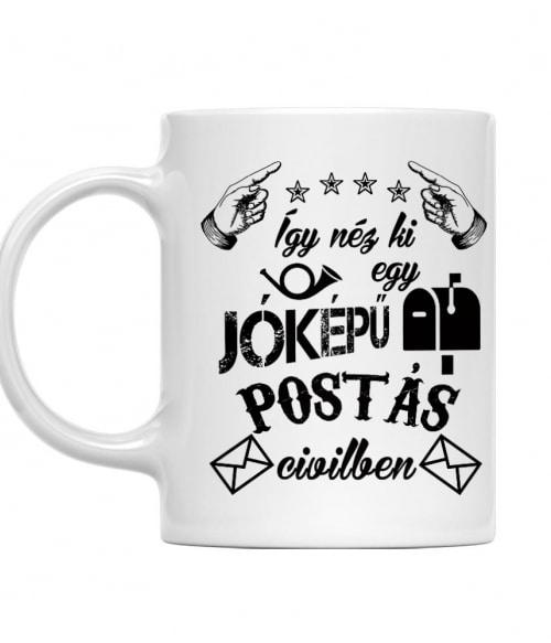 Jóképű postás civilben Póló - Ha Postman rajongó ezeket a pólókat tuti imádni fogod!