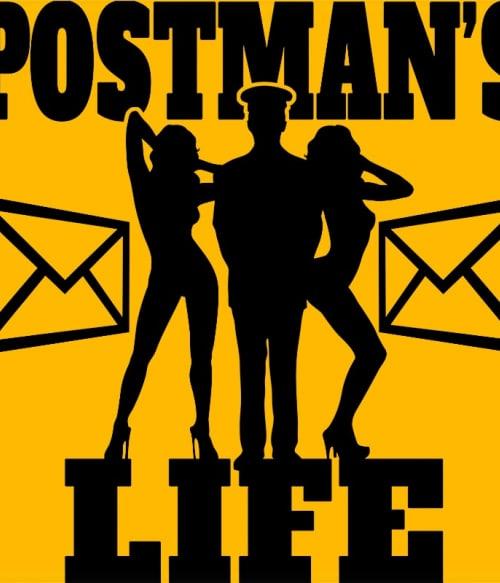 Postman's Life Póló - Ha Postman rajongó ezeket a pólókat tuti imádni fogod!