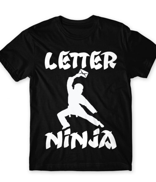 Letter Ninja Póló - Ha Postman rajongó ezeket a pólókat tuti imádni fogod!