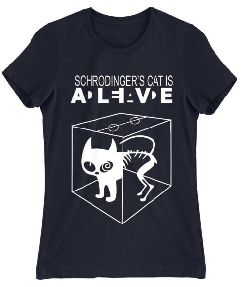 Schrödinger macskája Póló - Ha The Big Bang Theory rajongó ezeket a pólókat tuti imádni fogod!