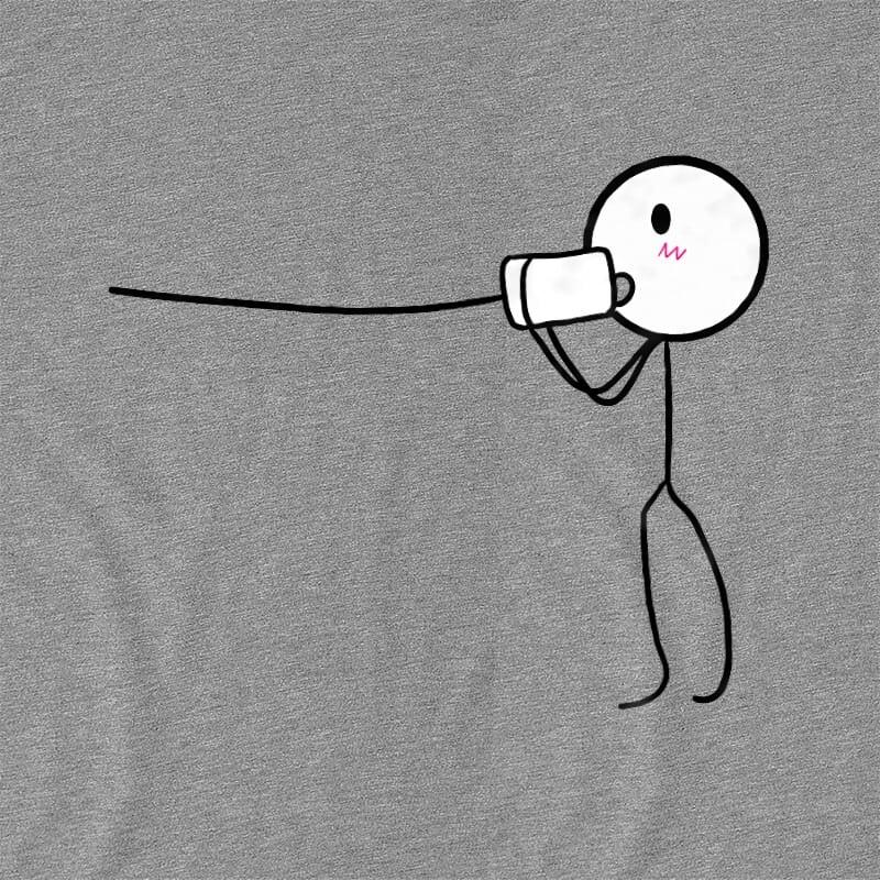 Love Phone – Férfi Póló - Ha Couple rajongó ezeket a pólókat tuti imádni fogod!