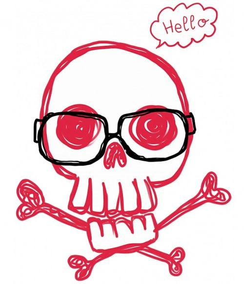 Hello Skull – Női Póló - Ha Couple rajongó ezeket a pólókat tuti imádni fogod!