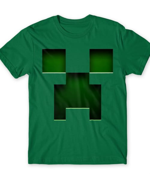 Creeper Póló - Ha Minecraft rajongó ezeket a pólókat tuti imádni fogod!
