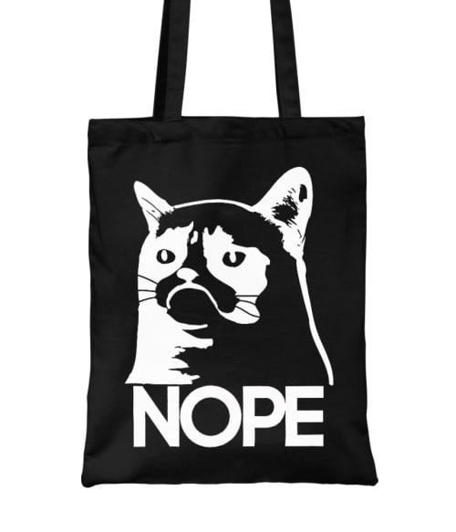Grumpy Cat Nope Póló - Ha Meme rajongó ezeket a pólókat tuti imádni fogod!