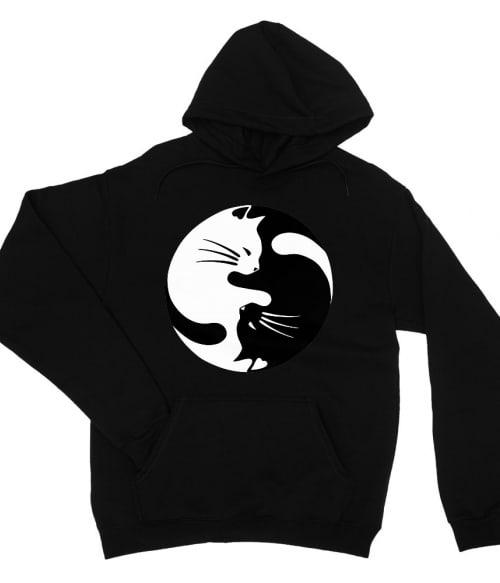 Yin Yang cica Póló - Ha Cat rajongó ezeket a pólókat tuti imádni fogod!
