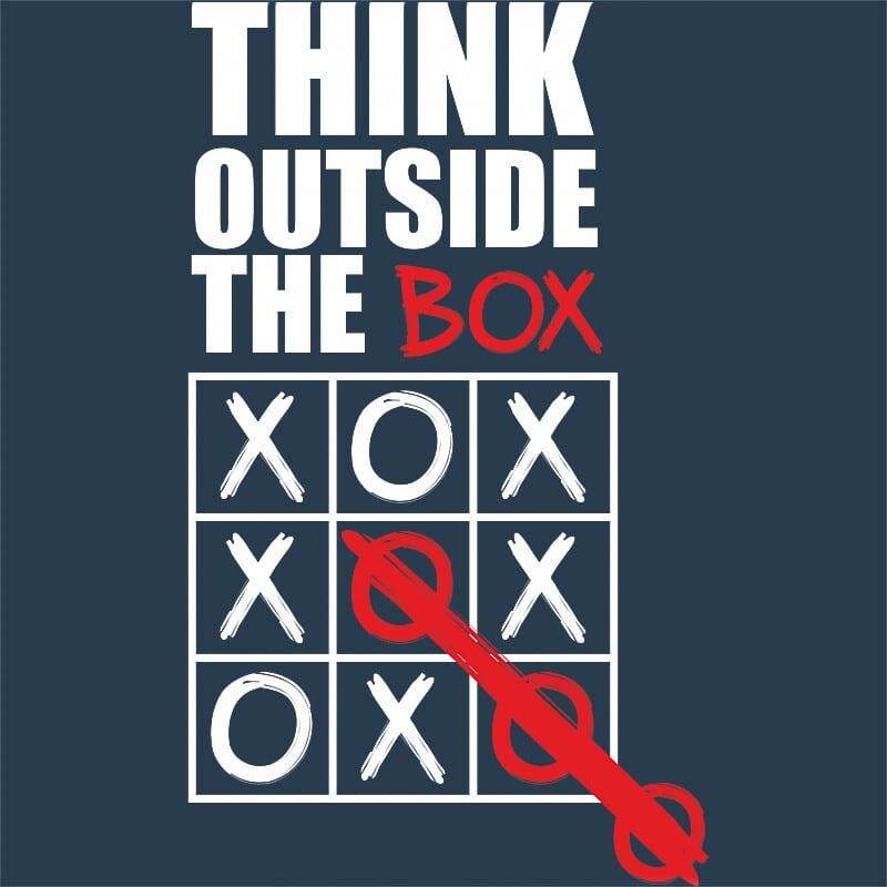 Think Outside The Box Póló - Ha Fun rajongó ezeket a pólókat tuti imádni fogod!