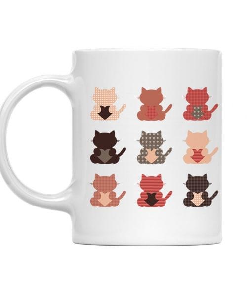 Kilenc cica Póló - Ha Cat rajongó ezeket a pólókat tuti imádni fogod!