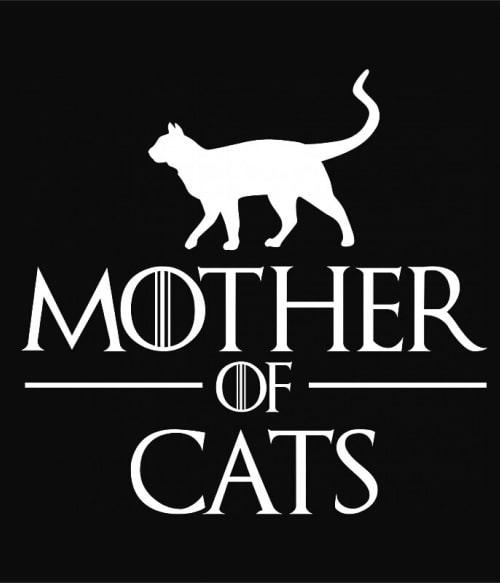 A macskák anyja Póló - Ha Cat rajongó ezeket a pólókat tuti imádni fogod!