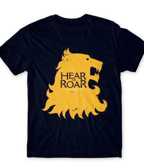 Lannister logó Póló - Ha Game of Thrones rajongó ezeket a pólókat tuti imádni fogod!