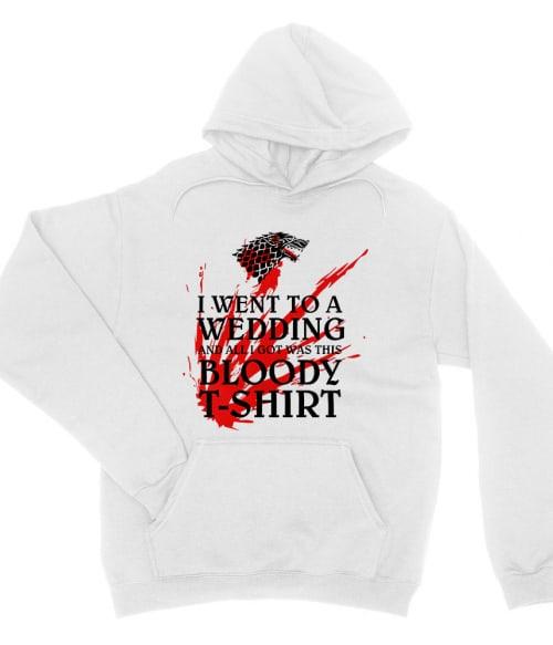 I went to a bloody wedding Póló - Ha Game of Thrones rajongó ezeket a pólókat tuti imádni fogod!