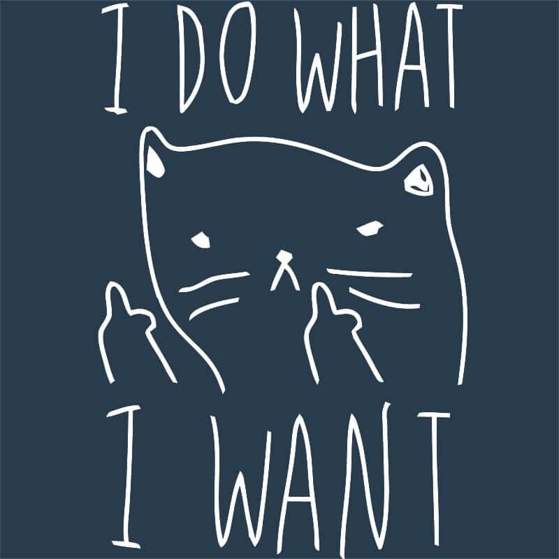 Azt csinálok amit akarok Póló - Ha Cat rajongó ezeket a pólókat tuti imádni fogod!