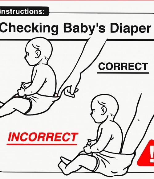 Baby Instructions – Pelus ellenőrzés Póló - Ha Baby rajongó ezeket a pólókat tuti imádni fogod!