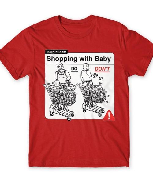 Baby Instructions – Vásárlás Póló - Ha Baby rajongó ezeket a pólókat tuti imádni fogod!