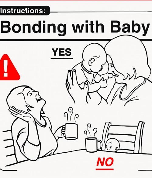 Baby Instructions – Közös időtöltés Póló - Ha Baby rajongó ezeket a pólókat tuti imádni fogod!