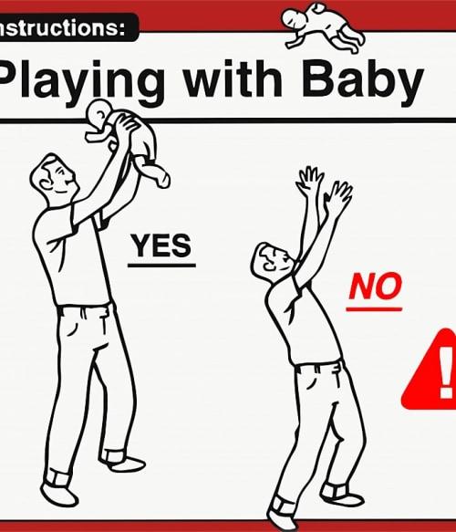Baby Instructions – Játékok Póló - Ha Baby rajongó ezeket a pólókat tuti imádni fogod!