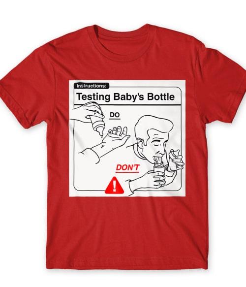 Baby Instructions – Tesztelés Póló - Ha Baby rajongó ezeket a pólókat tuti imádni fogod!