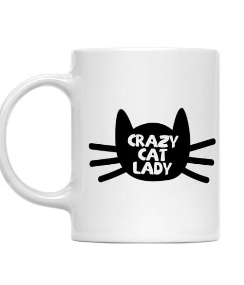 Őrült macskás nő Póló - Ha Cat rajongó ezeket a pólókat tuti imádni fogod!