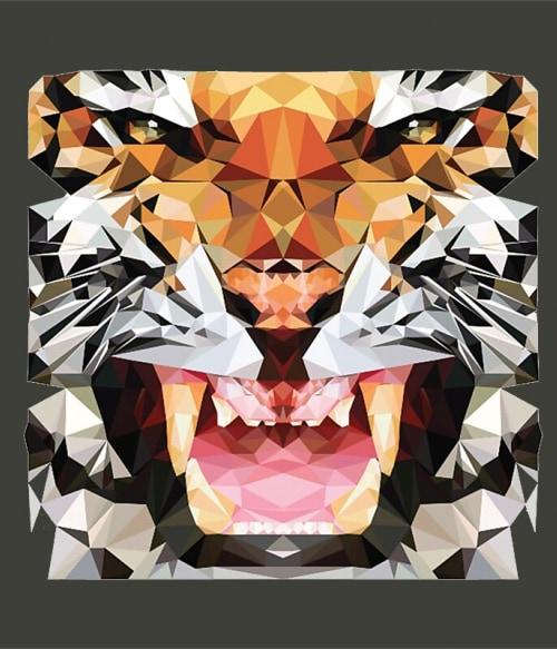 Polygon Tigris – Rawr Póló - Ha Animal rajongó ezeket a pólókat tuti imádni fogod!