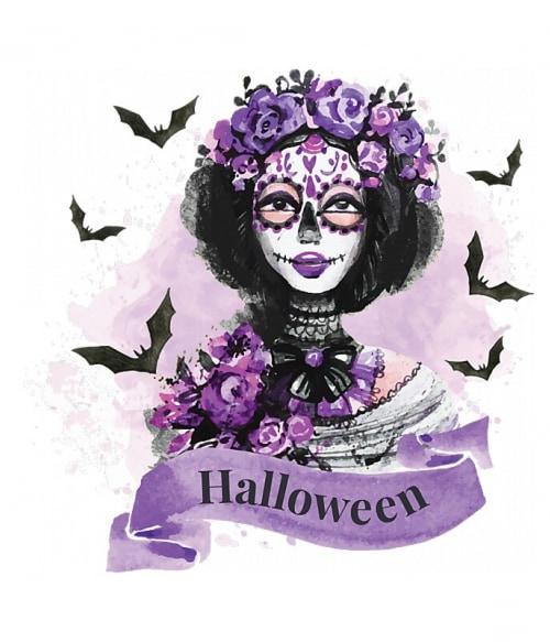 Mexikói női koponya Póló - Ha Halloween rajongó ezeket a pólókat tuti imádni fogod!