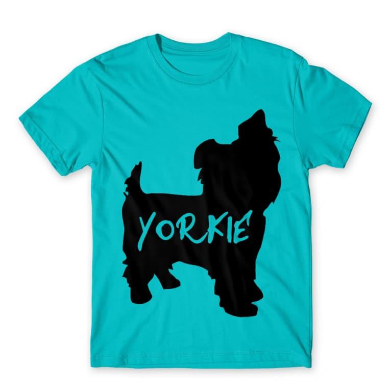 4f8f105fc5 Yorkie sziluett Póló - Dog