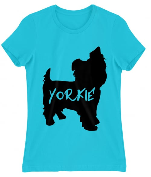 Yorkie sziluett Póló - Ha Dog rajongó ezeket a pólókat tuti imádni fogod!